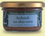 Anchoïade aux olives noires