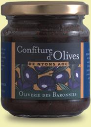 Confiture d'olive de Nyons AOC