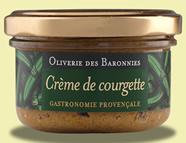 Crème de courgette