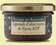 Tapenade d'olives noires de Nyons AOP